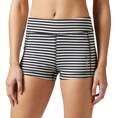Womens Reebok Yoga Hot Unlined Shorts - Chalk M