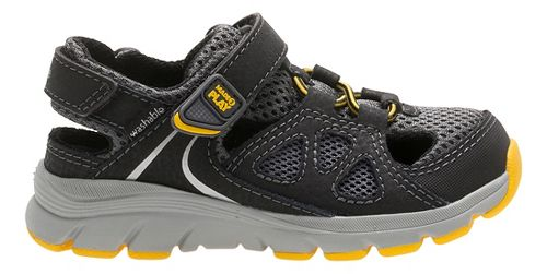 Stride Rite M2P Scout Sandals Shoe - Grey 2.5Y