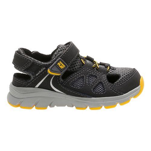 Stride Rite M2P Scout Sandals Shoe - Grey 1Y
