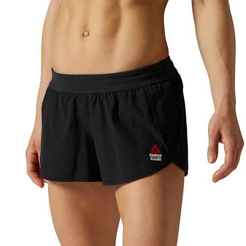 Womens Reebok CrossFit Ass to Ankle Lined Shorts - Black M