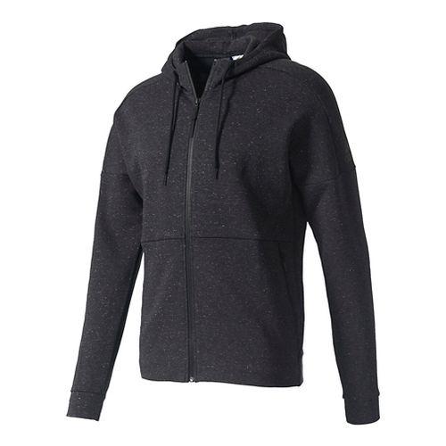 Mens Adidas ID Stadium Full-Zip Casual Jackets - Black M