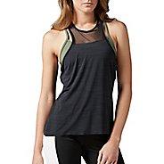 Womens Reebok Cardio Performance Sleeveless & Tank Tops Technical Tops