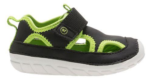 Stride Rite SM Splash Sandals Shoe - Black 4C