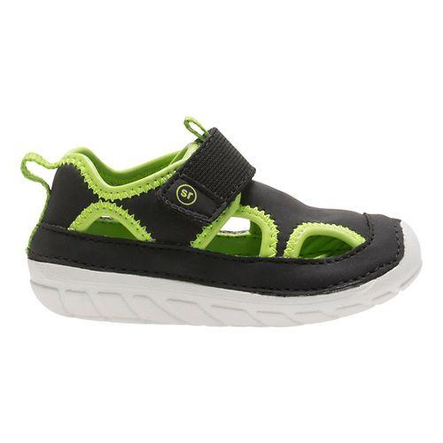 Stride Rite SM Splash Sandals Shoe - Black 5.5C