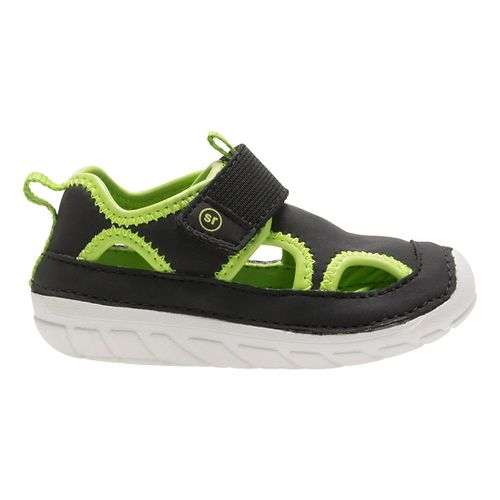 Stride Rite SM Splash Sandals Shoe - Black 6C