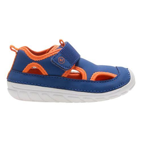 Stride Rite SM Splash Sandals Shoe - Navy/Orange 3C