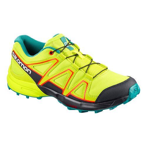 Kids Salomon Speedcross Trail Running Shoe - Acid Lime 6Y