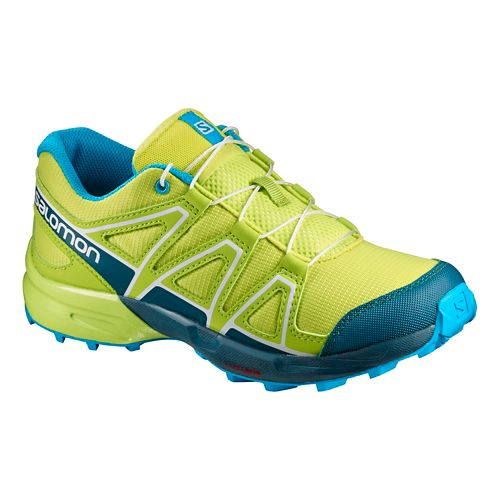 Salomon Speedcross J Trail Running Shoe - Lime Punch 1Y