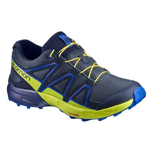 Salomon Speedcross J Trail Running Shoe - Ombre Blue 5Y
