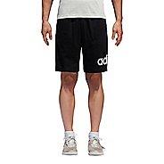 Mens Adidas Jersey Unlined Shorts - Black M