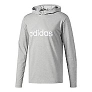 Mens Adidas Badge Of Sport Long-Sleeve Half-Zips & Hoodies Technical Tops