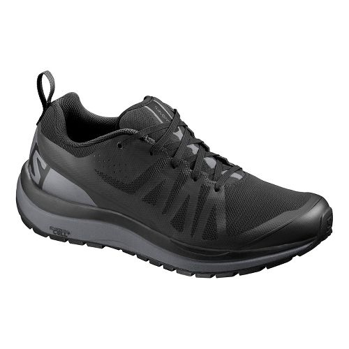 Mens Salomon Odyssey Pro Hiking Shoe - Black Shade 11.5