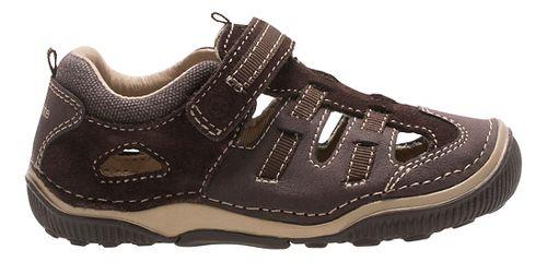 Stride Rite SRT Reggie Sandals Shoe - Brown 4.5C