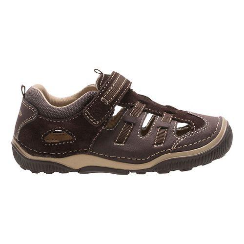 Stride Rite SRT Reggie Sandals Shoe - Brown 7.5C