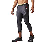 Mens Reebok CrossFit Compression 3/4 Pant Tights & Leggings Pants
