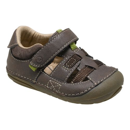 Stride Rite SRT SM Antonio Sandals Shoe - Brown 3.5C