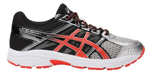 Kids ASICS GEL-Contend 4 Running Shoe - Silver/Blue/Black 3Y