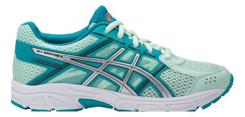 Kids ASICS GEL-Contend 4 Running Shoe - Mint/Aqua 7Y