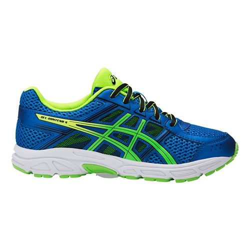 Kids ASICS GEL-Contend 4 Running Shoe - Blue/Green 2.5Y