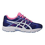 Kids ASICS GEL-Contend 4 Running Shoe - Blue Purple/White 6.5Y