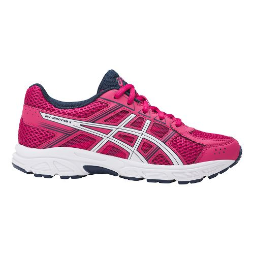 Kids ASICS GEL-Contend 4 Running Shoe - Pink/White 2Y