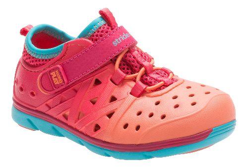 Stride Rite M2P Phibian Sandals Shoe - Magenta Multi 4C