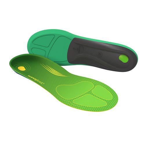 Superfeet RUN Comfort Max Insoles - Green F