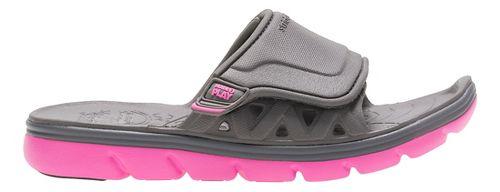 Stride Rite M2P Phibian Slide Sandals Shoe - Grey/Pink 13C