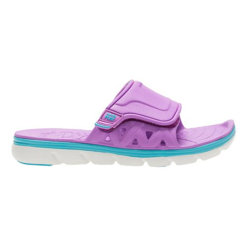 Stride Rite M2P Phibian Slide Sandals Shoe - Purple 5Y