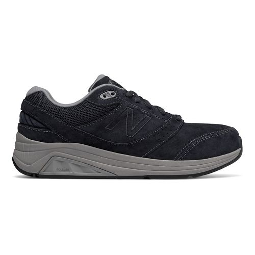 Womens New Balance 928v2 Suede Walking Shoe - Navy/Grey 5.5