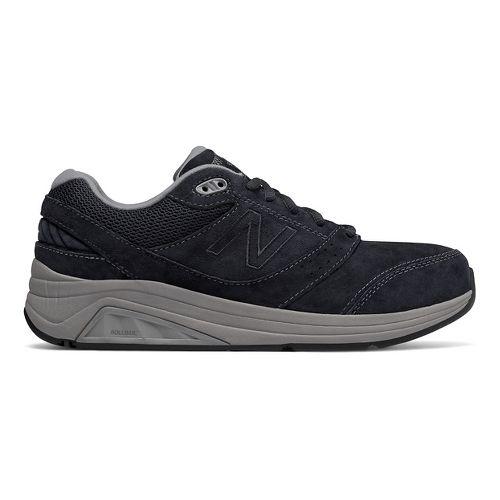 Womens New Balance 928v2 Suede Walking Shoe - Navy/Grey 8