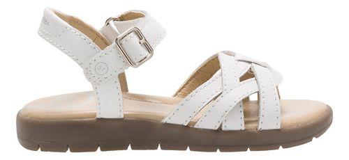 Stride Rite Millie Sandals Shoe - White 3Y