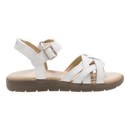 Stride Rite Millie Sandals Shoe - White 2Y