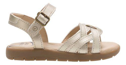 Stride Rite Millie Sandals Shoe - Gold 3Y