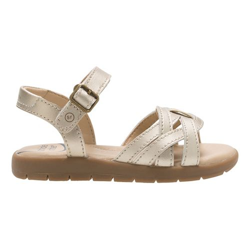 Stride Rite Millie Sandals Shoe - Gold 7.5C
