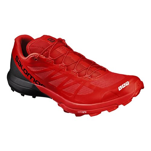 Salomon S-Lab Sense 6 SG Trail Running Shoe - Red/Black 9