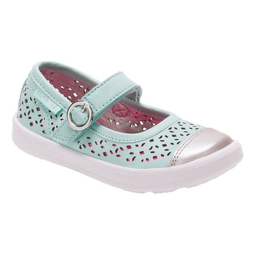 Stride Rite Poppy Casual Shoe - Turquoise 4.5C