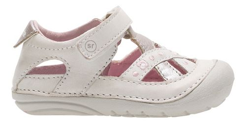 Stride Rite SM Kiki Sandals Shoe - White 3.5C