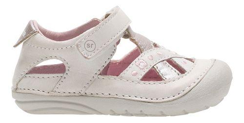 Stride Rite SM Kiki Sandals Shoe - White 4.5C