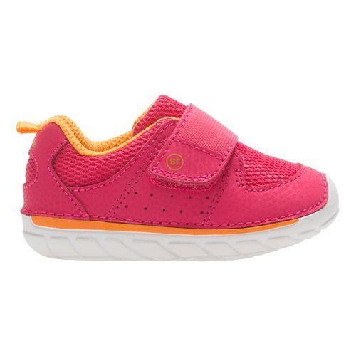 Stride Rite SM Ripley Running Shoe - Pink Grapefruit 4C