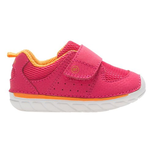 Stride Rite SM Ripley Running Shoe - Pink Grapefruit 5.5C