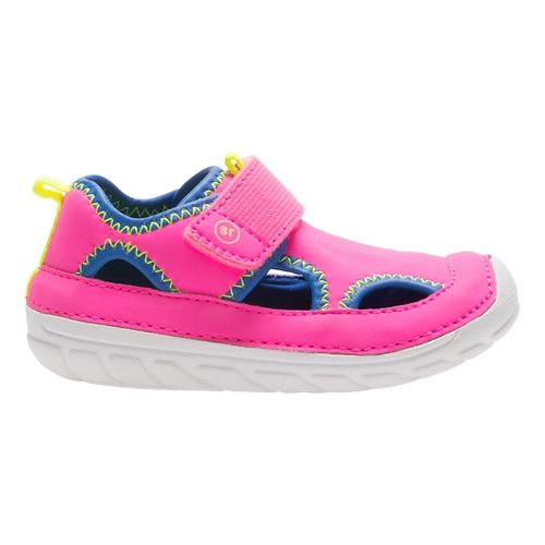 Stride Rite SM Splash Sandals Shoe - Fuchsia 4C