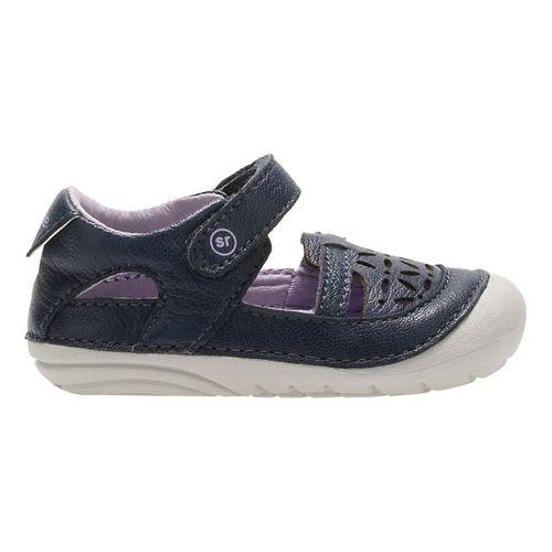 Stride Rite SM Viviana Sandals Shoe - Navy 4.5C