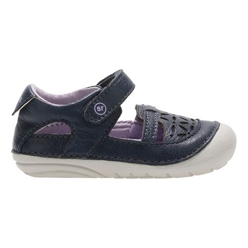Stride Rite SM Viviana Sandals Shoe - Navy 4C