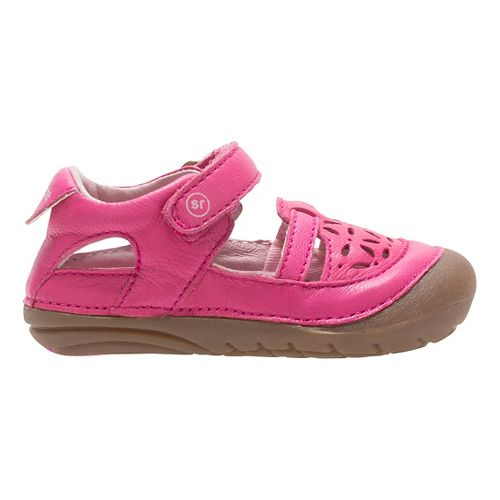 Stride Rite SM Viviana Sandals Shoe - Pink 3.5C