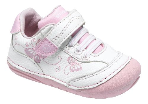 Stride Rite SRT SM Bambi Casual Shoe - White/Pink 6C