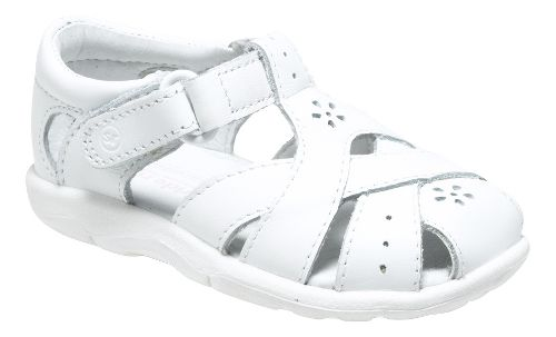 Stride Rite SRT Tulip Sandals Shoe - White 5.5C