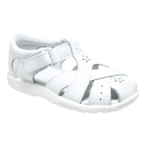 Stride Rite SRT Tulip Sandals Shoe - White 3C