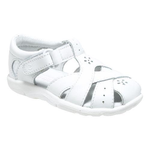 Stride Rite SRT Tulip Sandals Shoe - White 3C