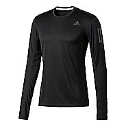 Mens Adidas Response Tee Long Sleeve Technical Tops